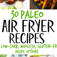 30 Paleo Air Fryer Recipes (Gluten Free, Whole30)