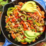 whole30 chipotle chicken skillet