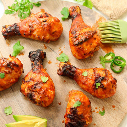Fiesta Whole30 Chicken Drumsticks & Paleo Homemade Taco Sauce