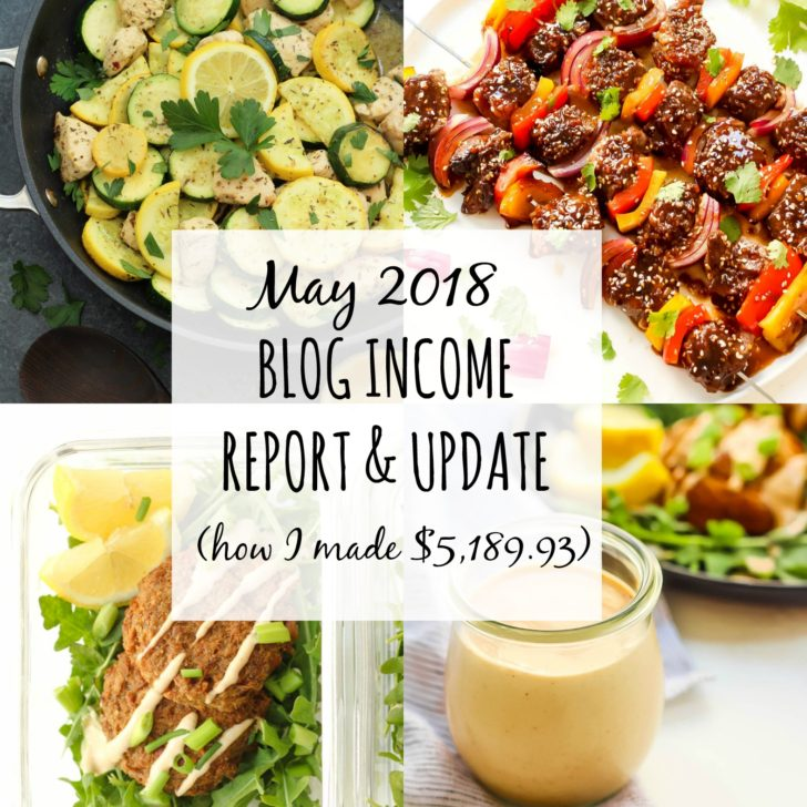 May Income Report: The Monthly Blog Biz Update