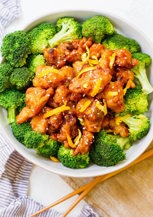 Easy Whole30 Chinese Orange Chicken: Paleo, Gluten-Free