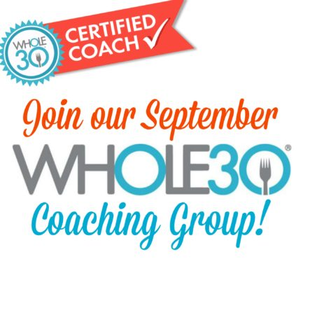 September Whole30 Coaching Group