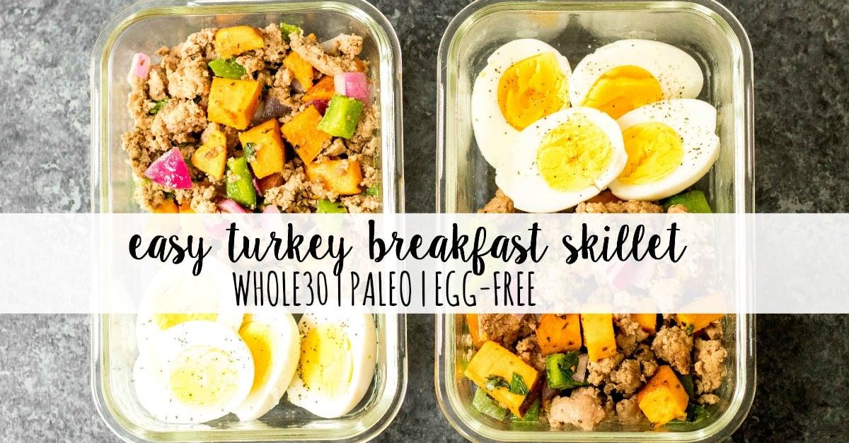 whole30 turkey breakfast skillet