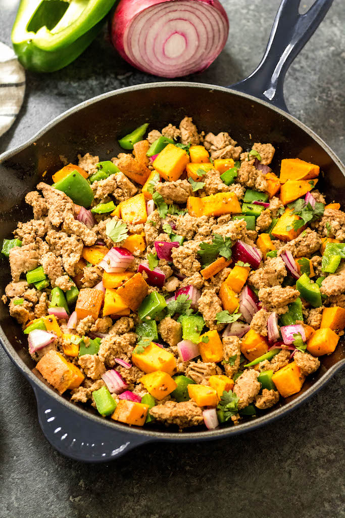 Whole30 Turkey Breakfast Skillet Paleo Egg Free Breakfast