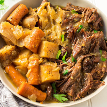 Easy Instant Pot Pot Roast and Veggies (Whole30, Paleo, GF)