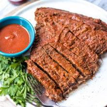 Instant Pot BBQ Beef Brisket (Whole30, Paleo, Gluten Free)