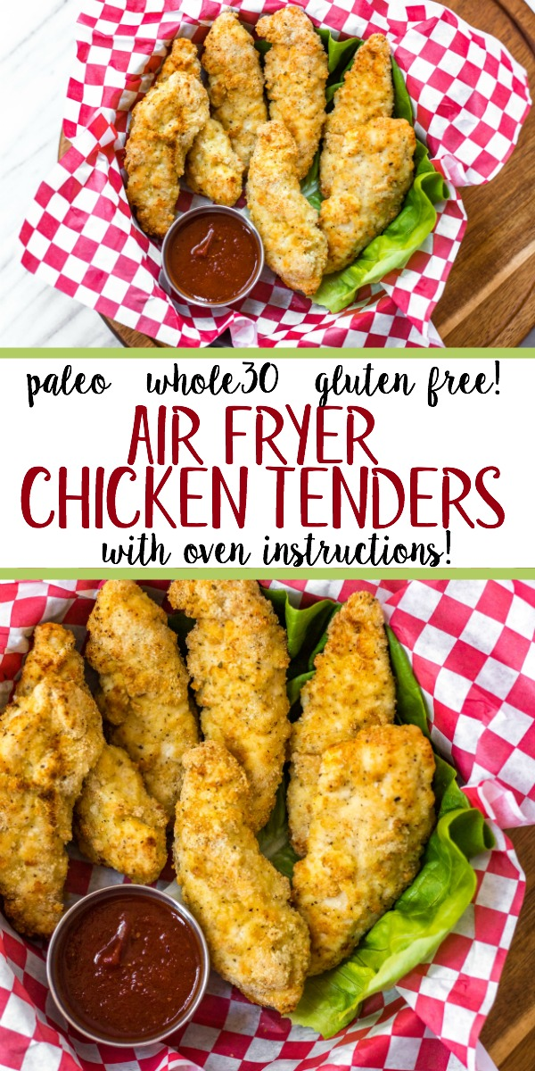 Air Fryer Chicken Tenders Paleo Whole30 Low Carb Gf With Oven