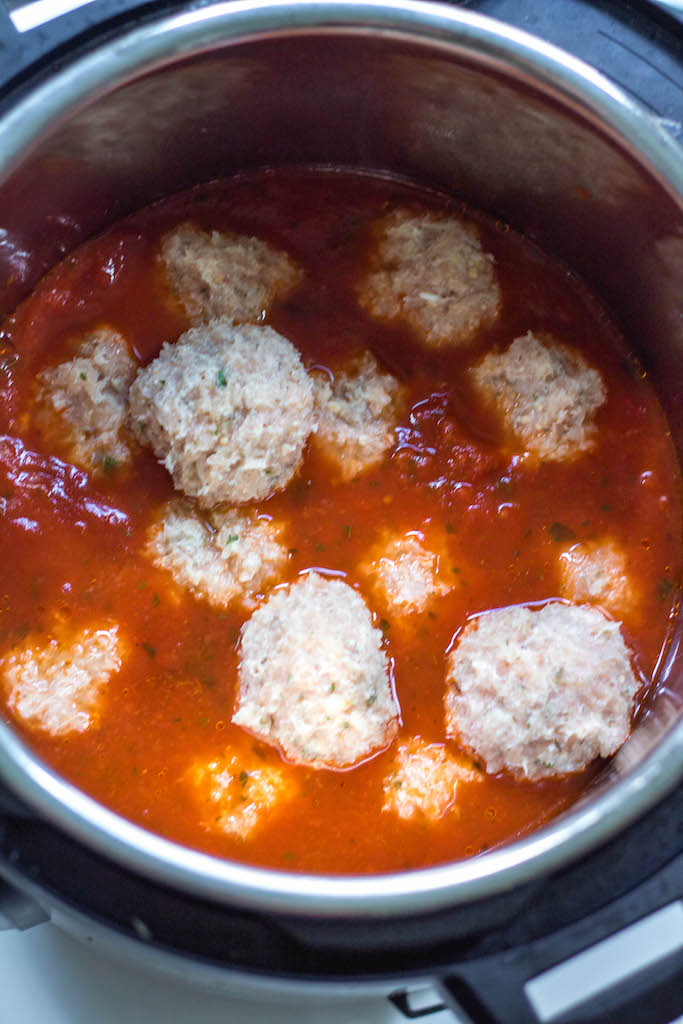 whole30 instant pot chicken meatballs
