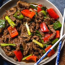 Instant Pot Pepper Beef: Whole30, Paleo, Keto, GF