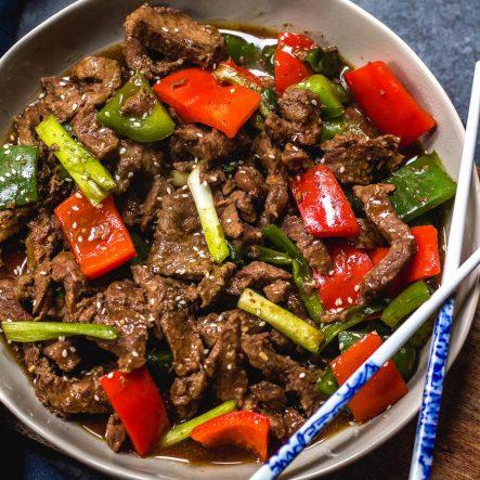 Instant Pot Pepper Beef: Whole30, Paleo, Keto, GF