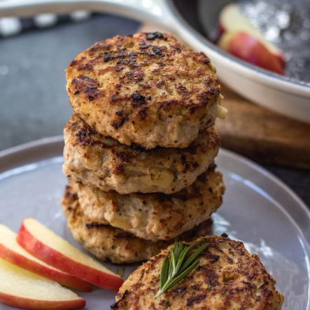 Homemade Chicken Apple Sausage: Whole30, Paleo, Gluten-Free, Freezer Friendly