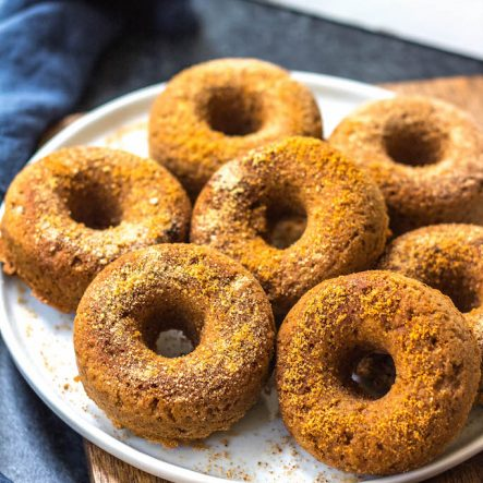 Paleo Pumpkin Donuts: Grain Free, Gluten Free, Refined Sugar Free