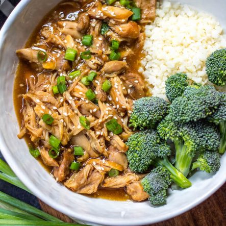 Instant Pot Teriyaki Chicken: Whole30, Paleo, Gluten-Free