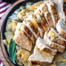 Pressure Cooker Apple Dijon Pork Tenderloins: Whole30, Paleo, GF, 30 Minutes