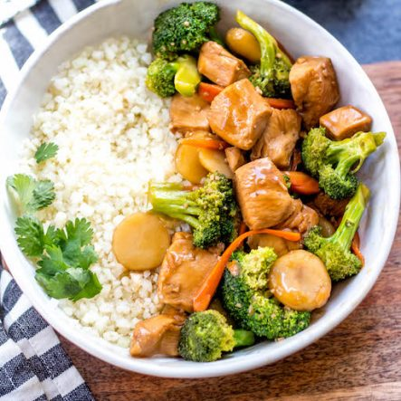 Instant Pot Broccoli Chicken Stir Fry: Whole30, Paleo, Low Carb, GF