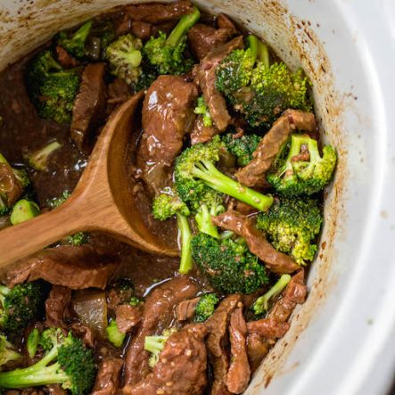 Slow Cooker Beef and Broccoli: Whole30, Paleo, Keto, GF