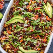 Easy Taco Casserole: Whole30, Paleo, Gluten-Free