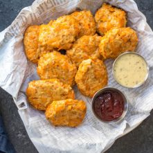Sweet Potato Chicken Nuggets: Whole30, Paleo, Gluten-Free Poppers