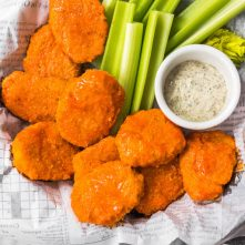 Buffalo Chicken Nuggets: Whole30, Paleo, GF, Low Carb