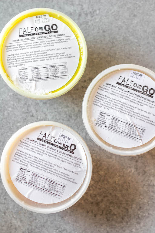 Paleo On The Go is a Whole30 meal delivery service that specializes in bringing Whole30 Approved, Paleo, Keto and AIP meals right to your doorstep. Chef prepared, with organic ingredients sourced from local farms, Paleo On The Go is an ideal option for anyone wanting healthy, Whole30 meals on hand that not only taste great, but make life easier. #whole30mealdelivery #AIPmeals #paleomeals #paleomealdelivery #paleoonthegoreview
