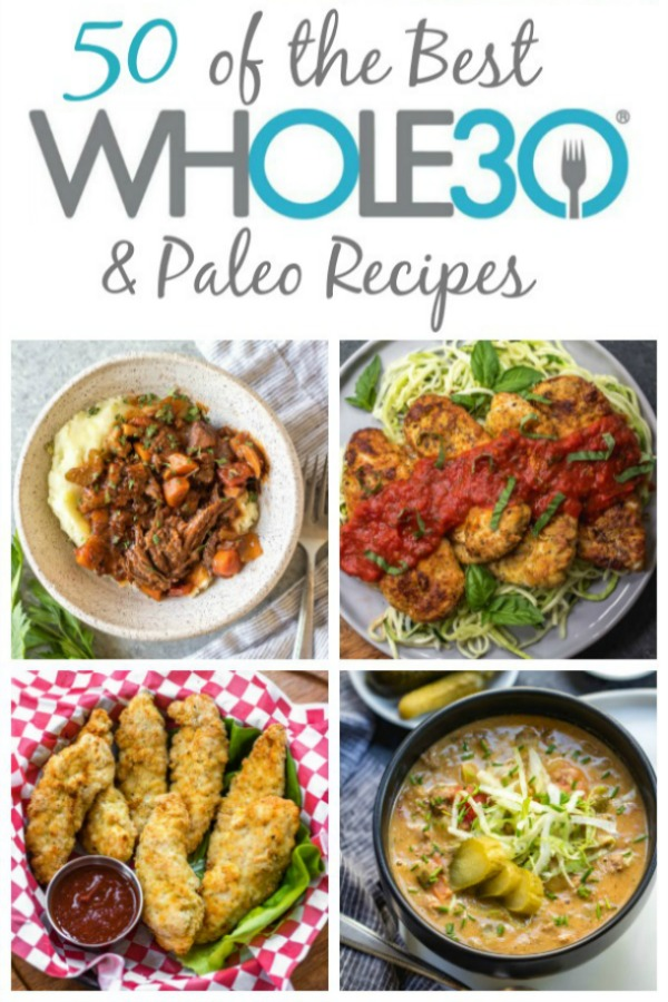 These paleo and Whole30 recipes are the best, highest rated and most commonly made healthy recipes here. They're also gluten-free and dairy-free recipes so they work for many different types of eaters and families! These ideas are also great for meal prep recipes, along with family friendly dinner recipes. They're sorted by cooking method to make it easy to find just what you're looking for! #whole30recipes #whole30 #bestwhole30recipes #paleorecipes #glutenfreerecipes