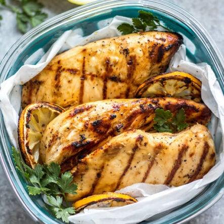 Grilled Lemon Pepper Chicken Breasts: Whole30, Paleo, Gluten-Free